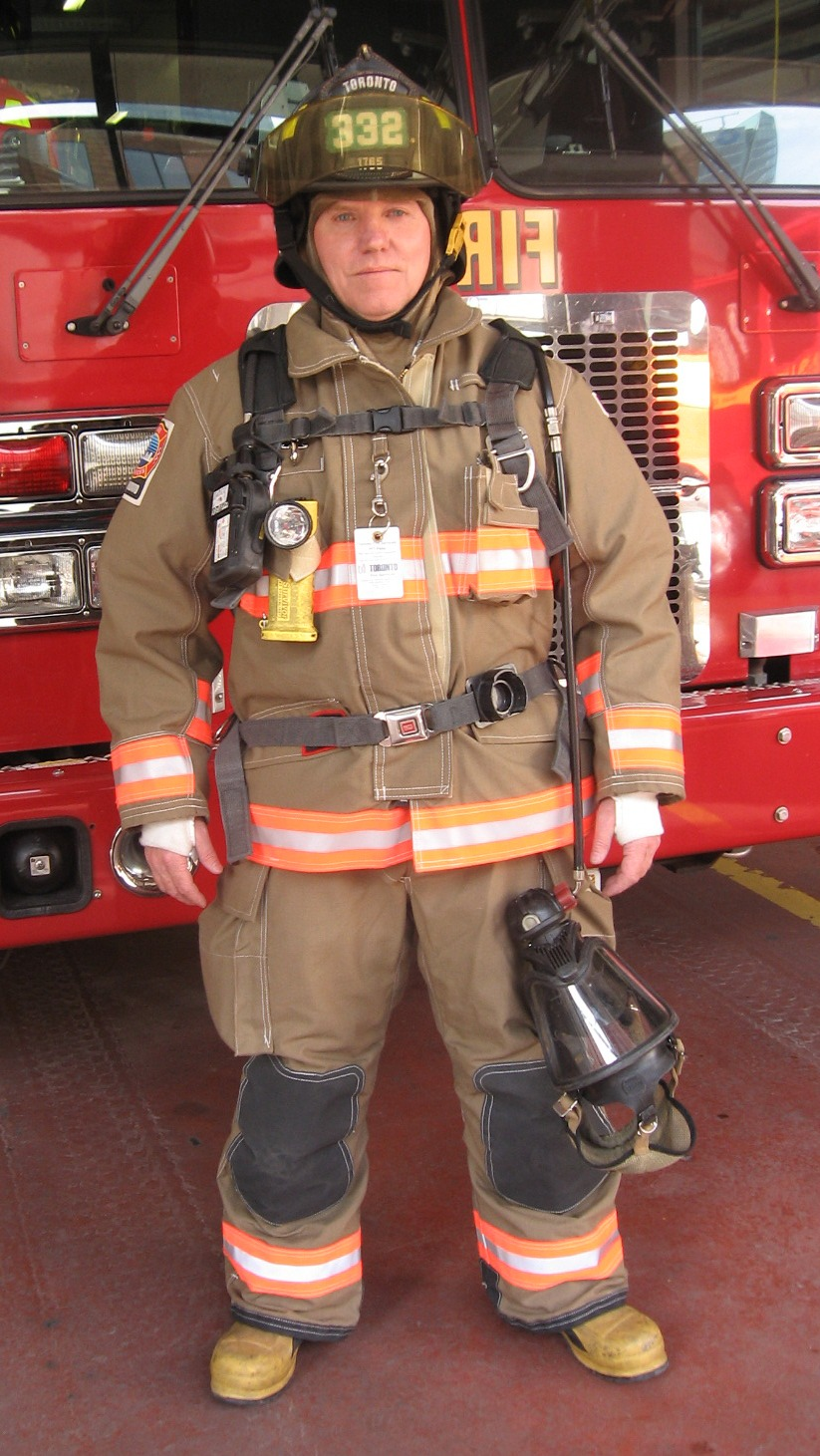 Firefighter Uniform In The Key Of He
