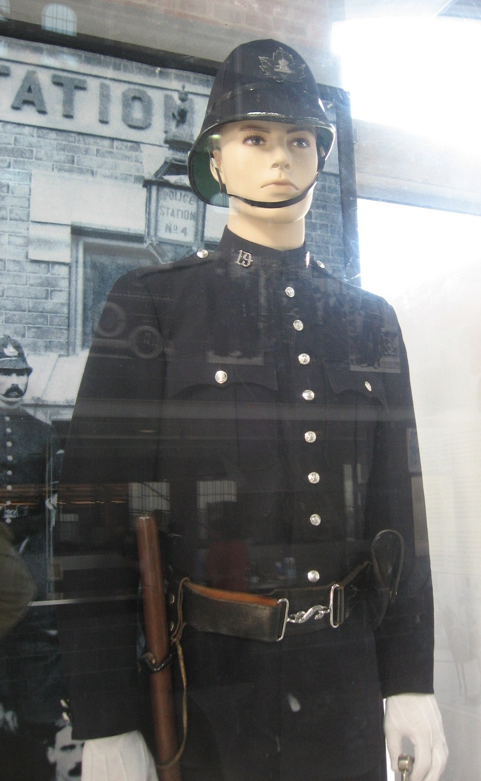 Police Uniform In The Key Of He