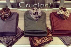 Cruciani Merino wool coloured sweaters
