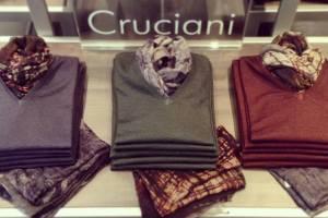 Cruciani Merino wool coloured sweaters