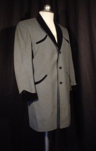 Teddy Boy Drape Coat