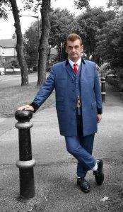 Teddy Boy, John aka Rockin' Nidge,  in Manchester.