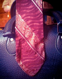 1930-era silk tie available at Kingpin's Hideaway.